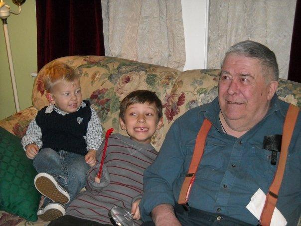 Finn Ian Grandpa Will 2008