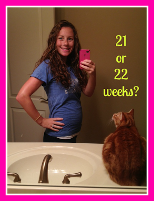 Am I 21 or 22 weeks pregnant?