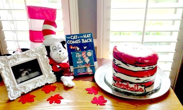 Dr Seuss Hat Cake