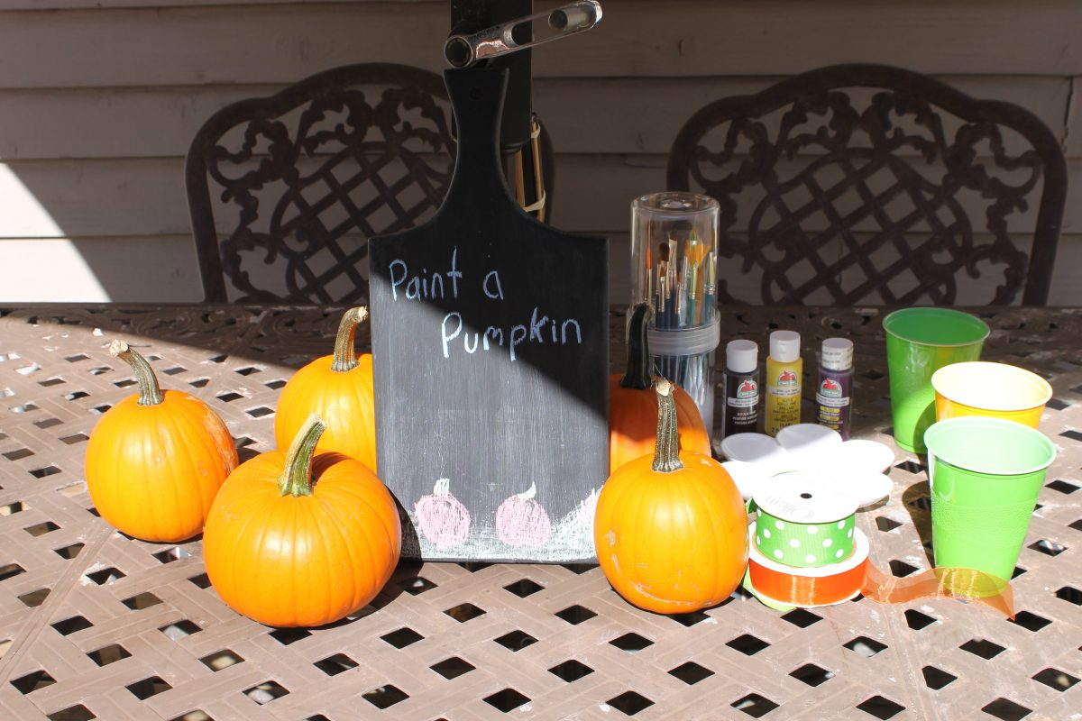 How to Make Hand Print Turkey Pumpkins - Easy Fall Craft for Kids