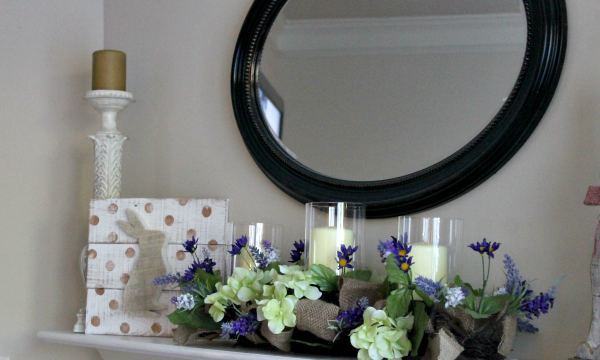 Spring Decor // Bunny Silhouette by Sutley Home