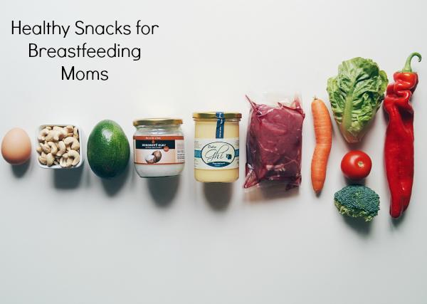 10 Snack Ideas for Breastfeeding Moms
