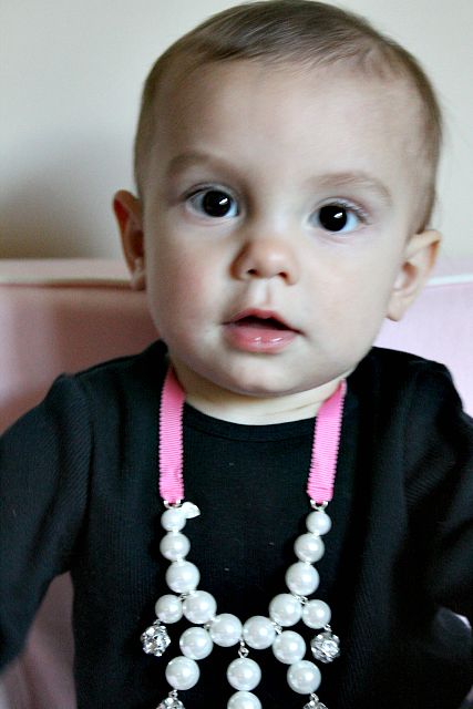 A New Obsession: Toddler Pearls