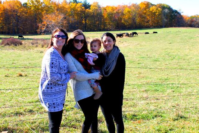 Mom, Me, A, Liz - Fall