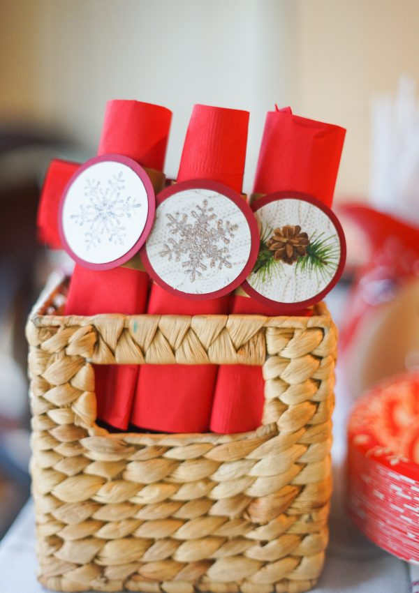 Winter Woodland Theme: Paper Decor