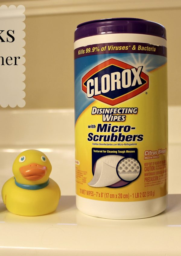 Cleaning Tips for Husbands with Clorox Wipes