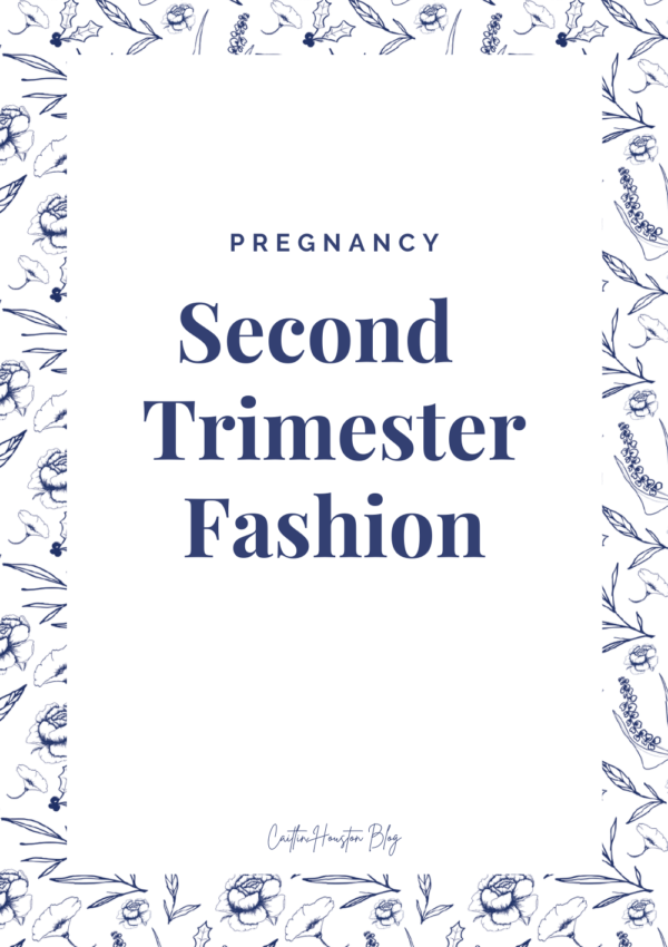 Second Trimester Fashion