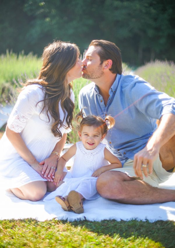 Lavender Farm Family Photos and Maternity Session