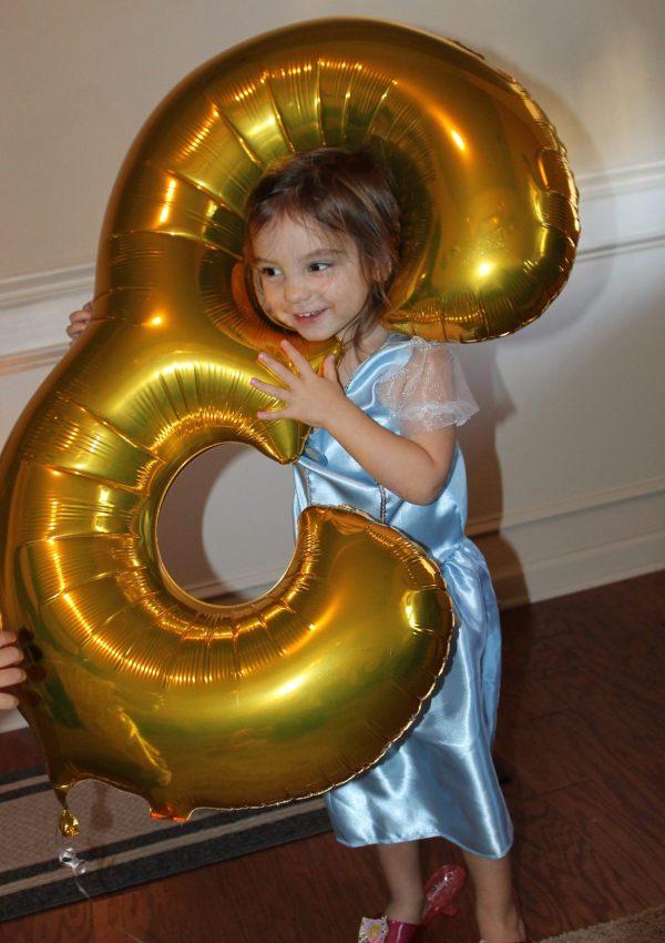 Annabelle's 3rd Ballerina Themed Birthday Party