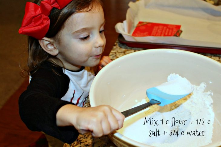 Salt Dough Ornaments are the perfect Christmas activity and easiest homemade gift for the holidays. Here is an easy way to DIY salt dough ornaments.