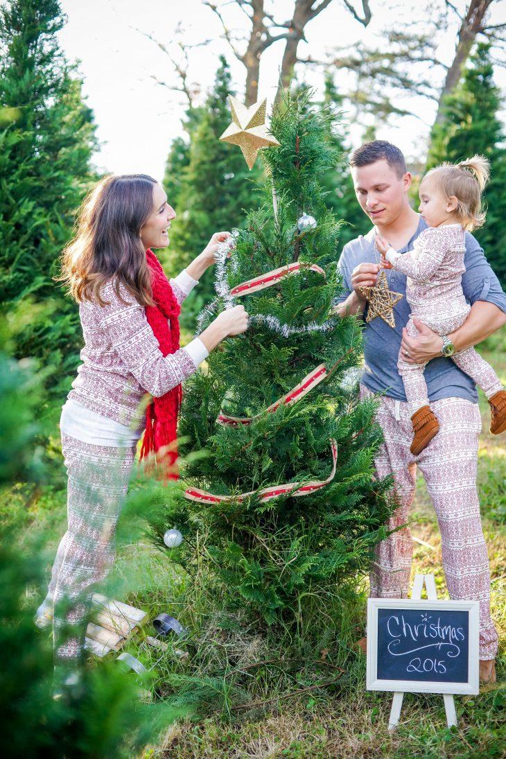Christmas Pajama Family Photos