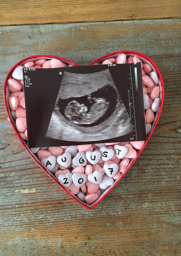 A Special Valentine's Day Pregnancy Announcement