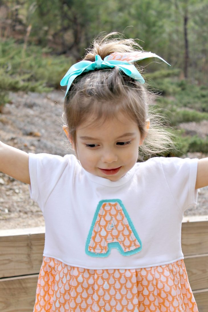 Three year old Annabelle
