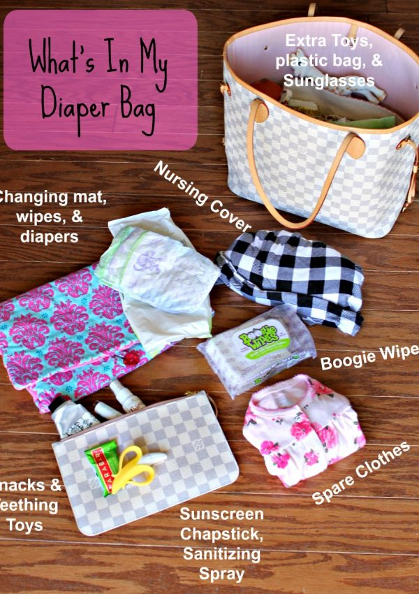 How to Pack a Diaper Bag for Spring