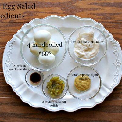 egg salad sandwich ingredients