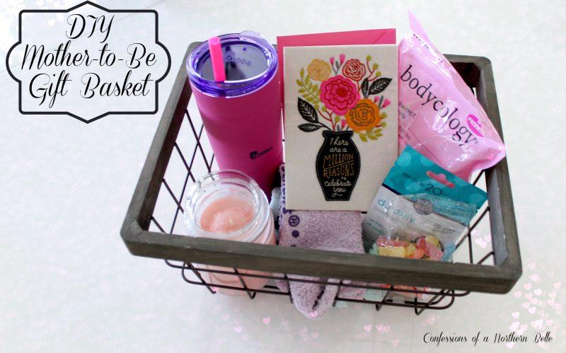 DIY Mom To Be Gift Basket