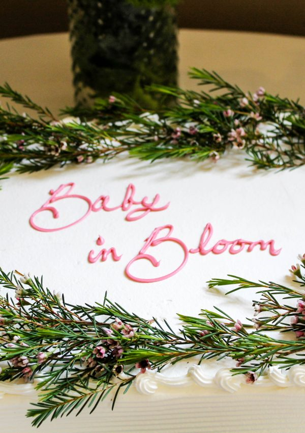 Baby in Bloom Baby Shower
