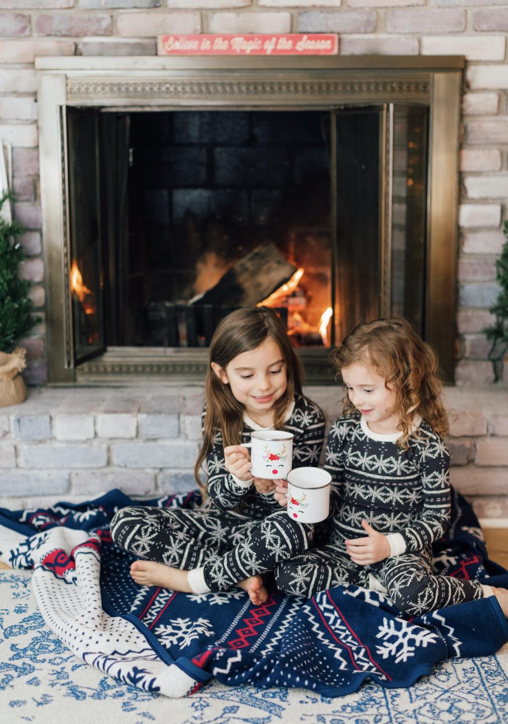 Matching Girls Pajamas