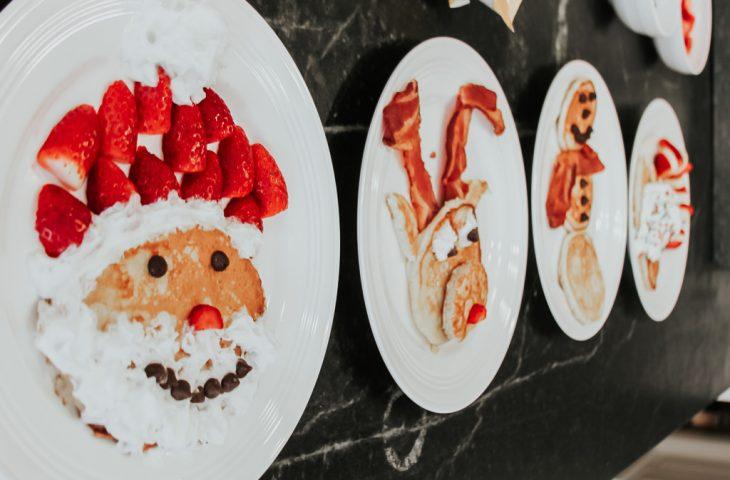 Christmas Themed Pancakes