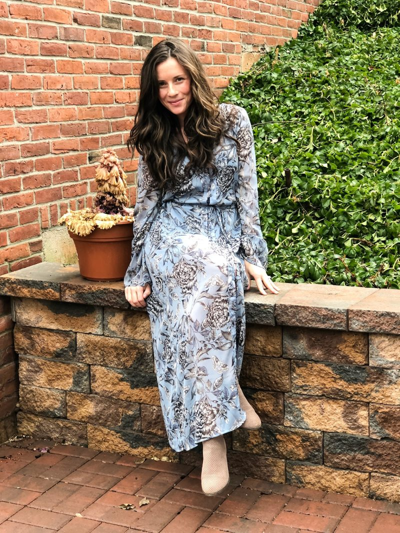 Winter or Spring Maxi Dress