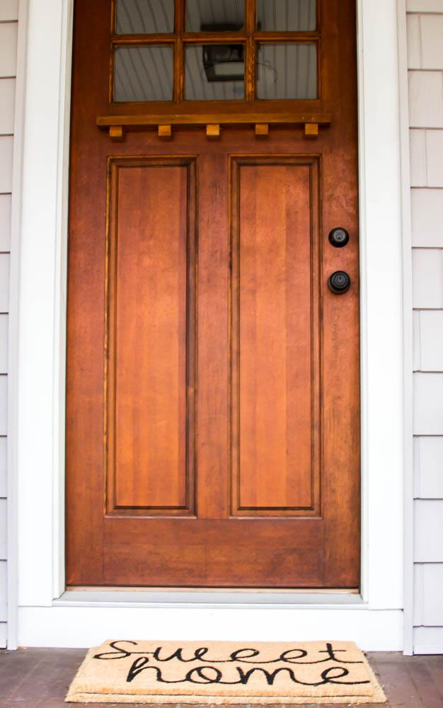 Front Door Sweet Home Doormat