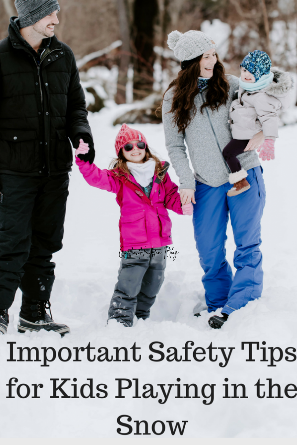 Rules for Playing Safely in the Snow