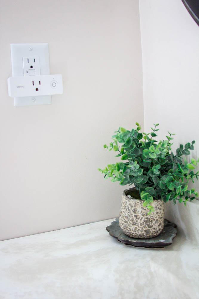 Plant Bathroom Wemo Plug In