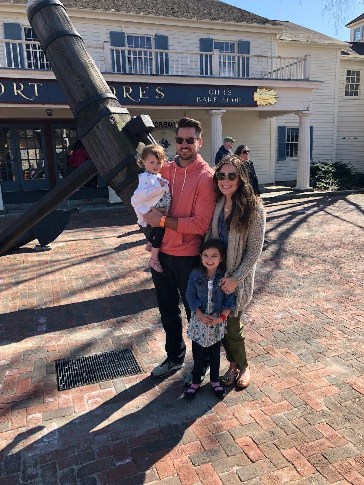 Family at Mystic Aquarium  in Mystic CT