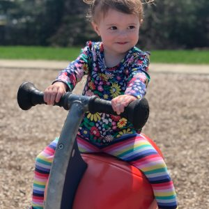 Toddler Playing at the Park
