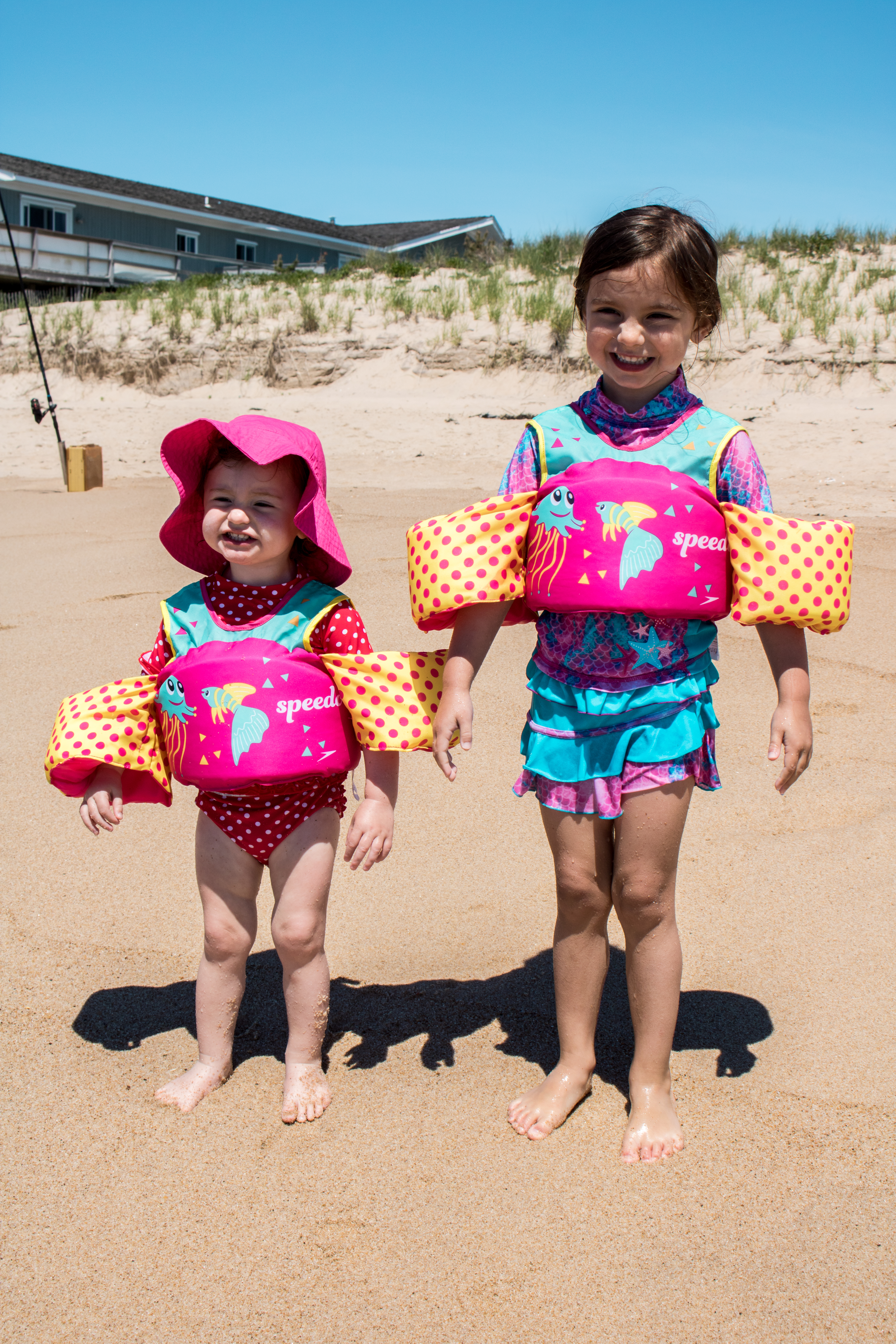 Sisters on the Beach - Hamptons Montauk NY - Confessions of a Northern Belle
