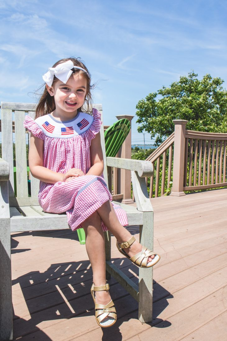 Fourth of July Smocked Outfits - Bella Bean Kelly - Hamptons - Confessions of a Northern Belle