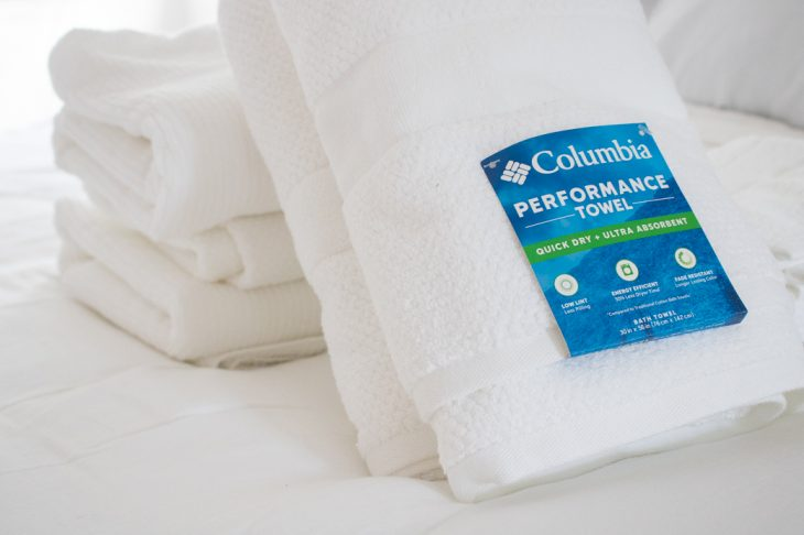 Columbia Bath Towels - Performance Towels