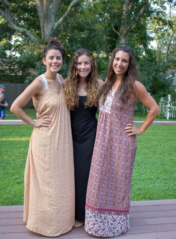 Girls in Maxi Dresses in Cape Cod