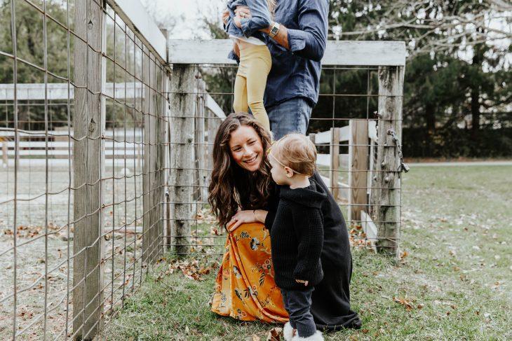 Family at a Farm