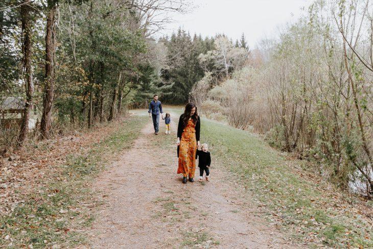 Family Photo Fall Farm