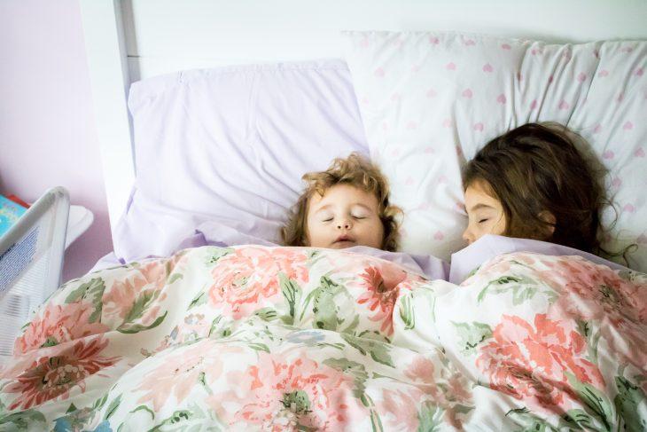 Sisters Sleeping