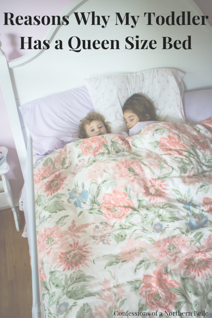 Toddlers and Queen Size Beds