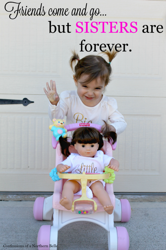 Sisters are Forever Pregnancy Announcement