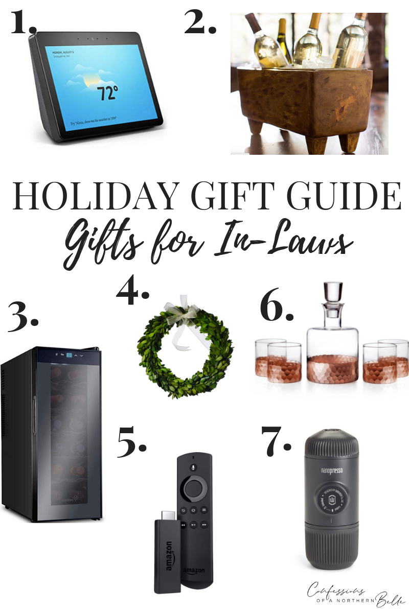 Gift Guide // Gifts for In-Laws & AMAZON GIVEAWAY