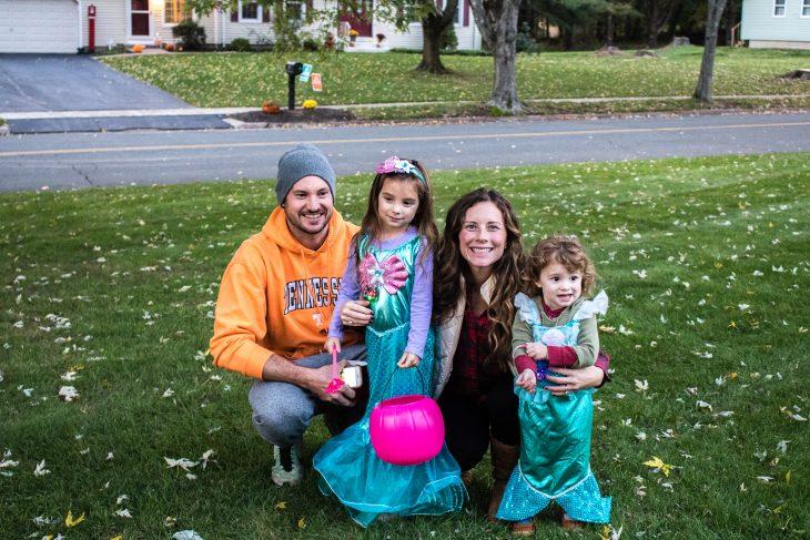 Halloween Family Photo