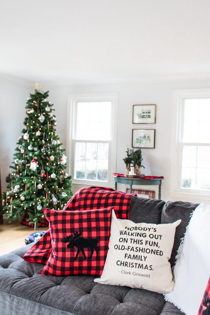 Christmas Vacation Quote Pillow