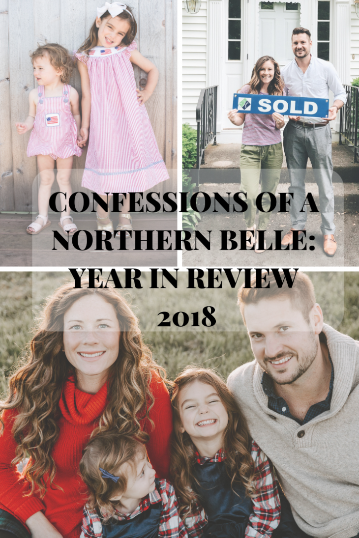 2018 Year Review for Confessions of a Northern Belle's Family