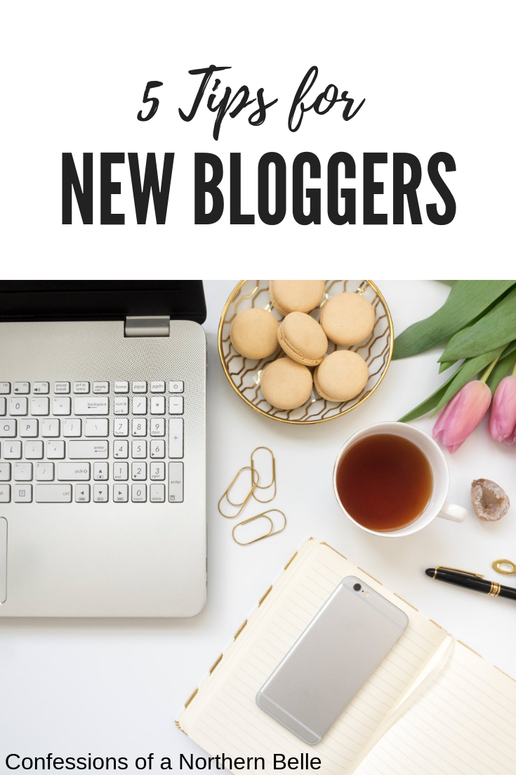 5 Tips for New Bloggers - How to start a blog from the beginning
