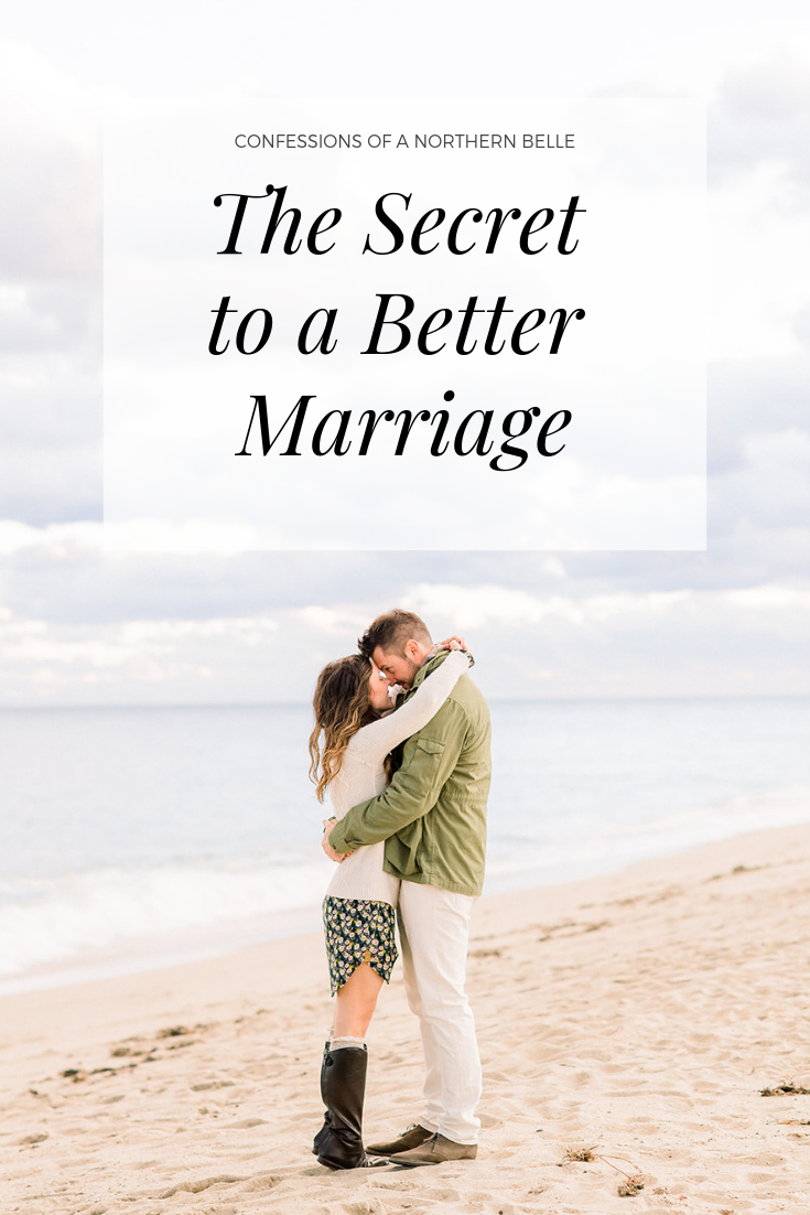 The Secret to a Better Marriage
