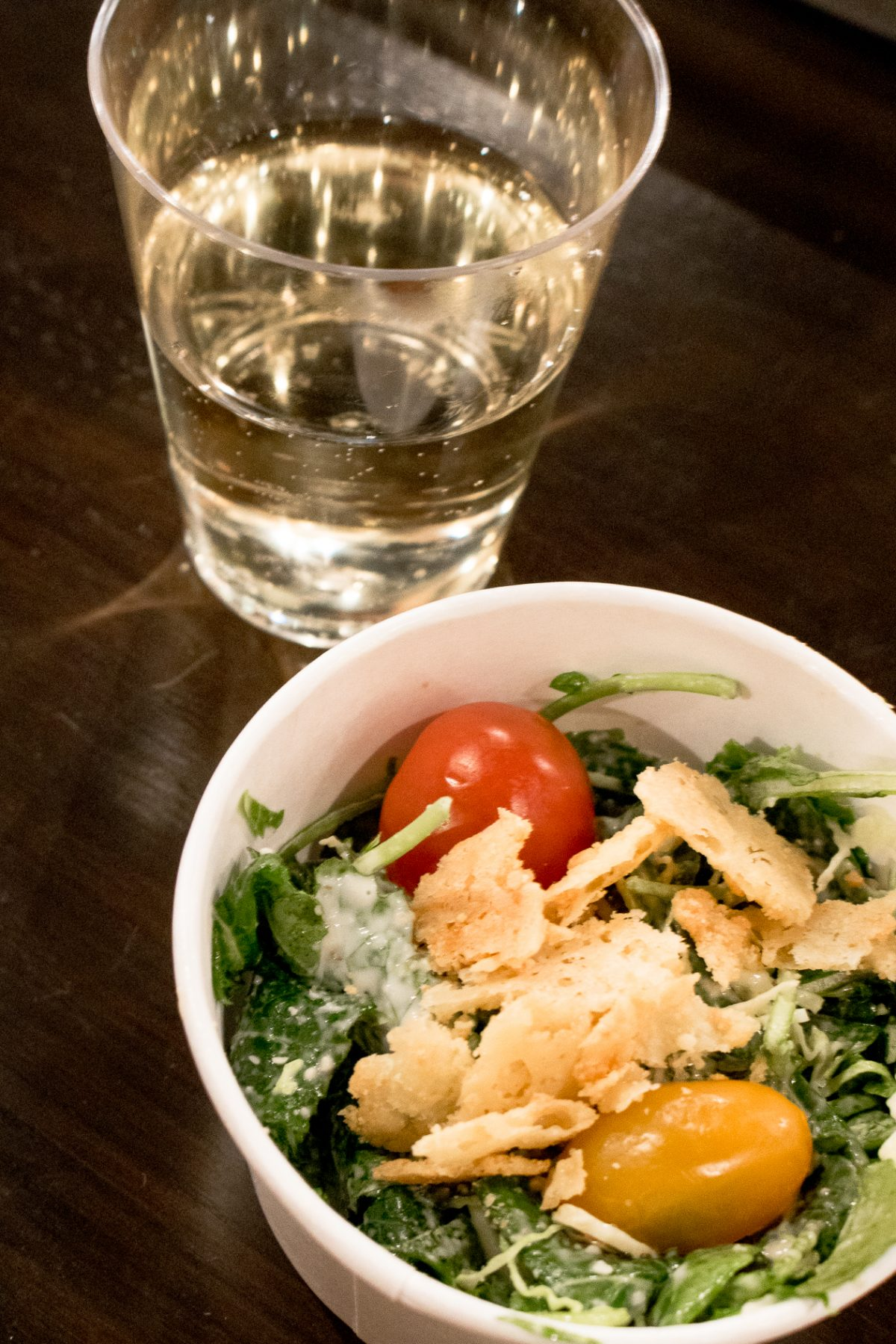 Kale Caesar Salad at Roost in hamden CT