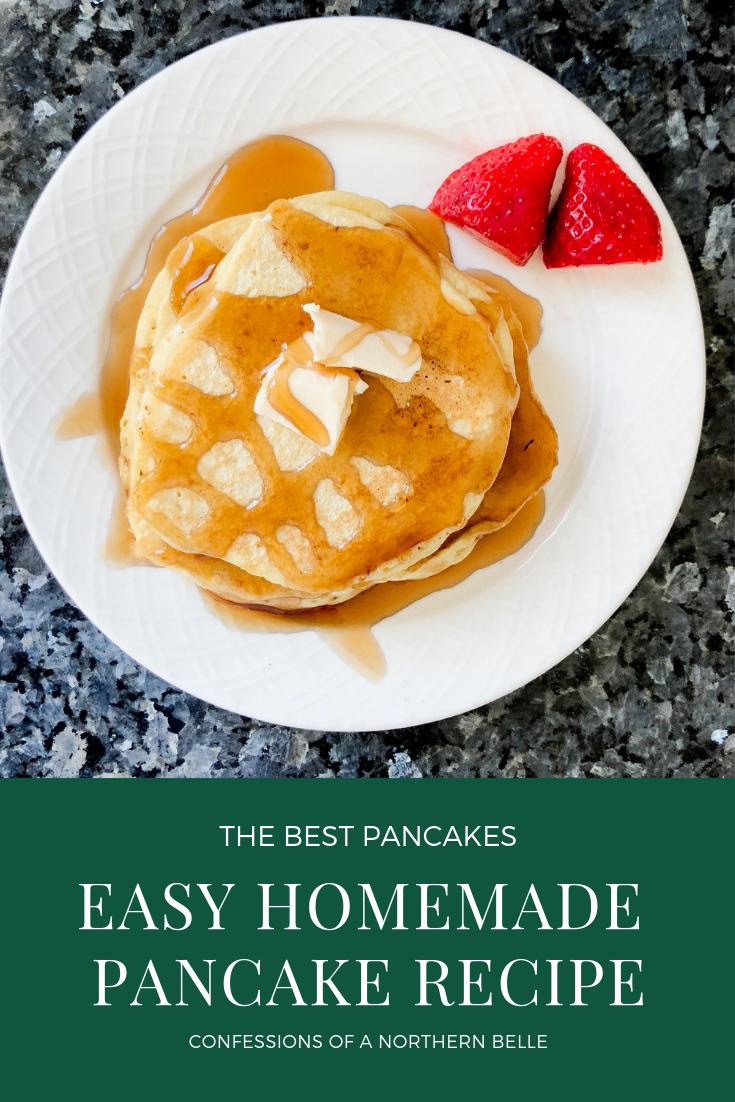the best homemade pancake recipe