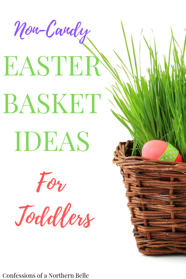 20 Ideas for Your Toddler's Easter Basket - Confessions of a Northern Belle