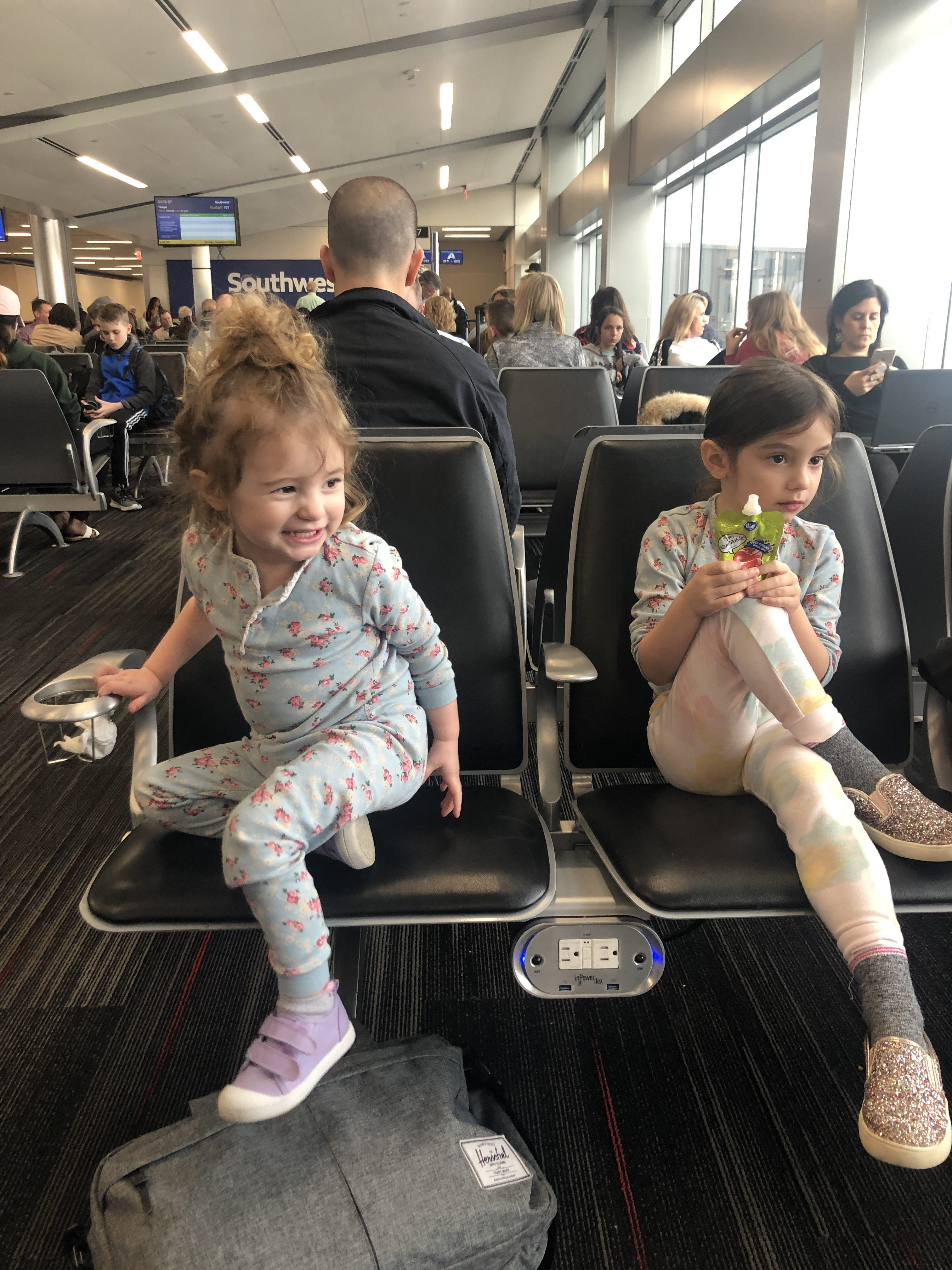 Tips for Flying Alone with Toddlers