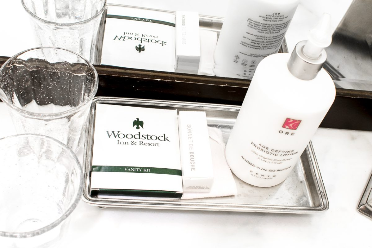Beauty Products at Woodstock Inn and Resort in Woodstock Vermont