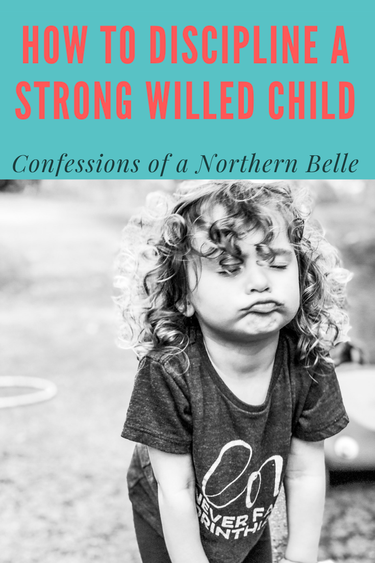 How to Discipline a Strong Willed Child by Confessions of a Northern Belle